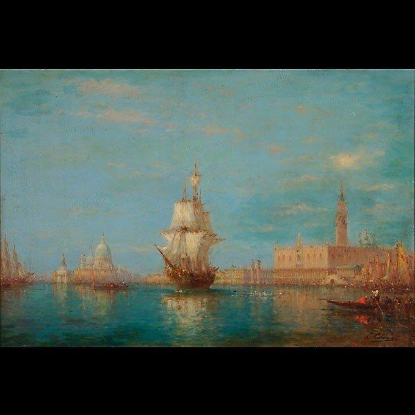1005: Charles-Clement Calderon scene of Venice