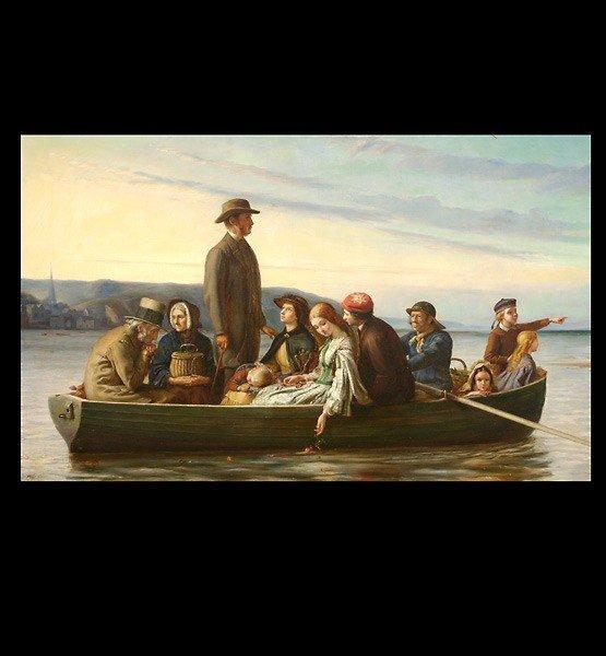 1009: Alexander Fraser scottish art painting