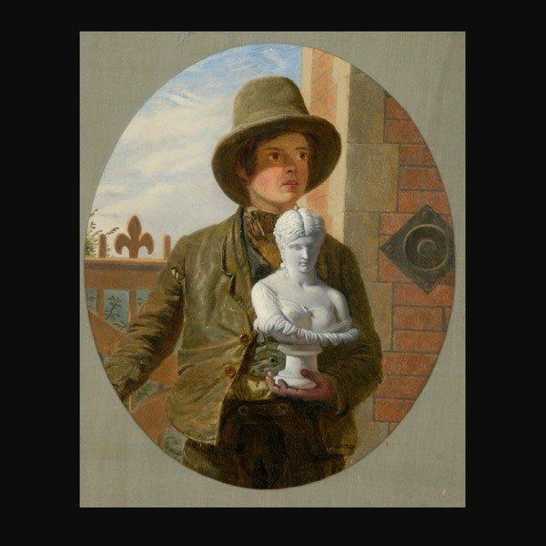 "1010: James Collinson ""The Image Maker"" Oil"