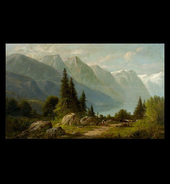 1016: Carl Jungheim German Austrian art