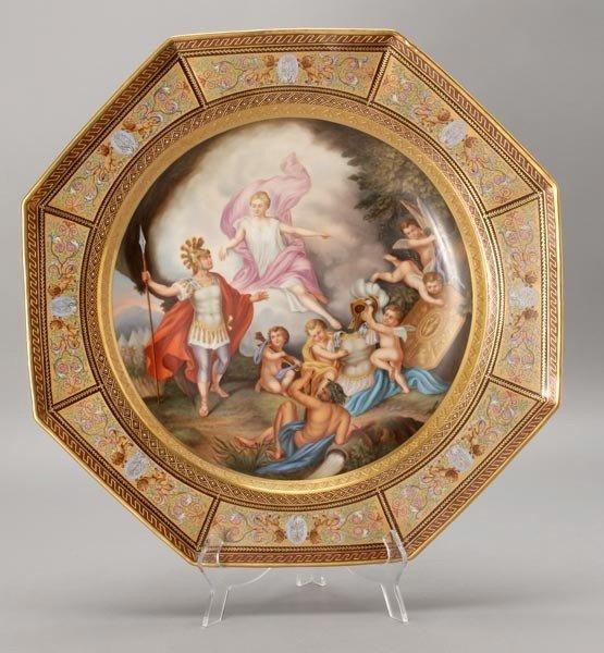 1180: Royal Vienna Plaque of Apotheosis of Homer