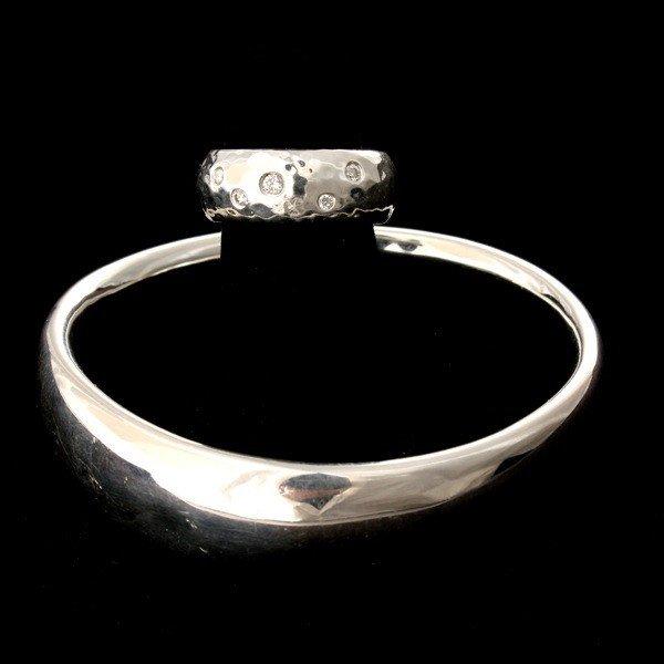 19: 2 IPPOLITA DIAMOND, STERLING SILVER JEWELRY ITEMS.
