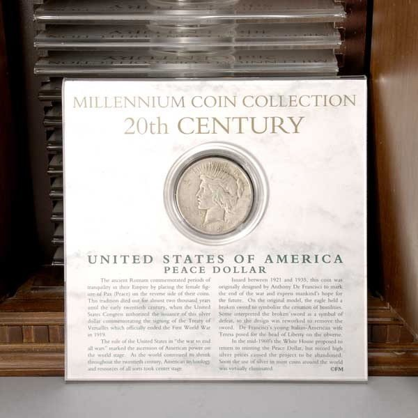 262: The Millennium Coin Collection by Franklin Mint, - 2