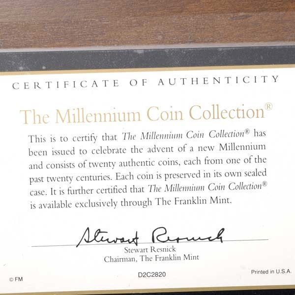 262: The Millennium Coin Collection by Franklin Mint, - 4
