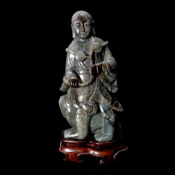 8024: A Jade Carving of Liu Hai