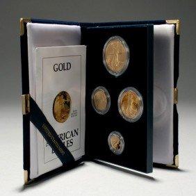 1001: U.S. 1991 Gold Bullion Coins Proof Set.