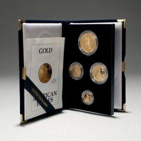 1002: U.S. 1992 Gold Bullion Coins Proof Set.