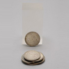 Collection Of Six Morgan Dollars.