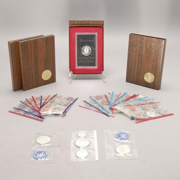 1149: Seventeen U.S. Uncirculated Mint Sets (1965-1994)