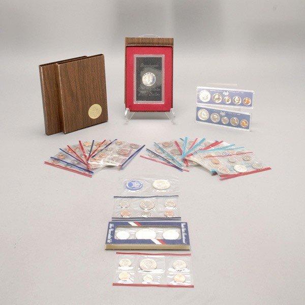 1150: Seventeen U.S. Uncirculated Mint Sets (1972-1993)