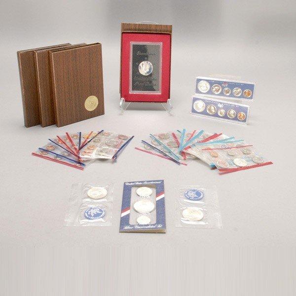 1151: Fifteen Uncirculated U.S. Coin Sets (1961-1990).
