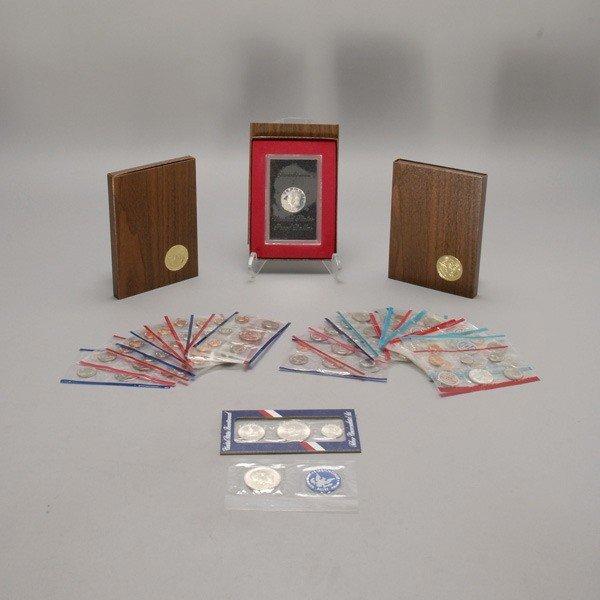 1152: Seventeen Uncirculated U.S. Coin Sets (1972-1993)