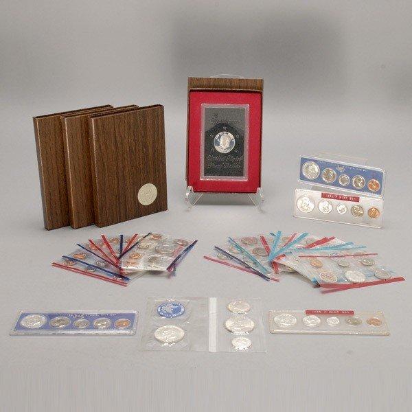 1153: Thirteen Uncirculated U.S. Coin Sets (1961-1989).