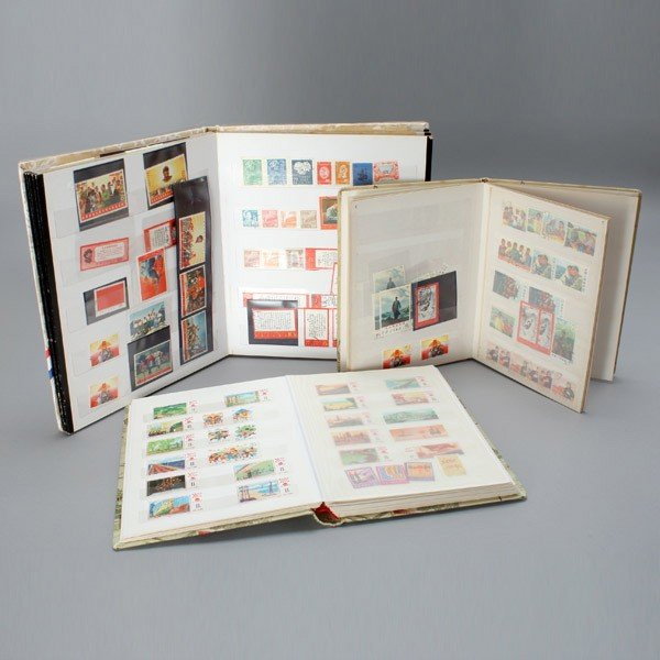 1309: People's Republic of China Stamps in 3 Stockbooks