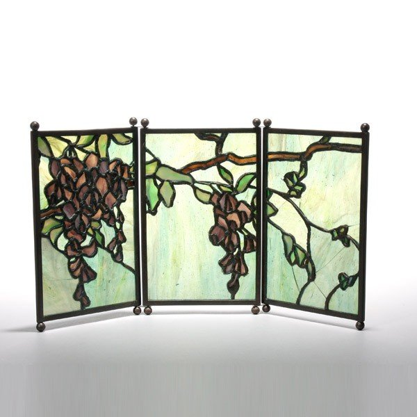 2019: Tiffany Studios Leaded glass Tea Screen