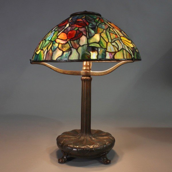2023: Tiffany Studios tulip lamp shade