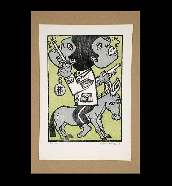1124: Antonio Henrique Amaral Brazil brazilian art