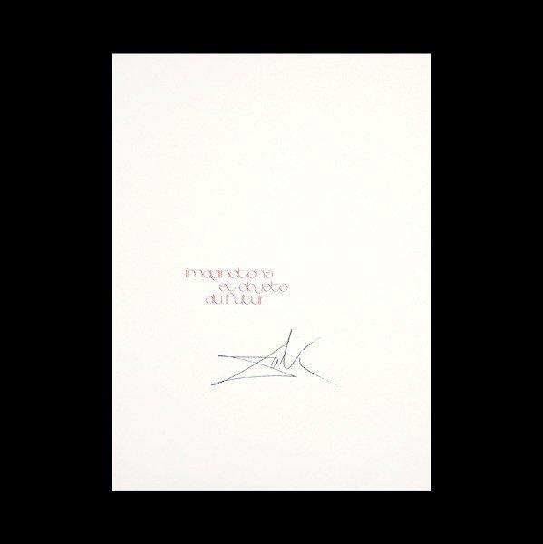 "1125: Dali ""imaginations et objets du futur"" Portfolio"