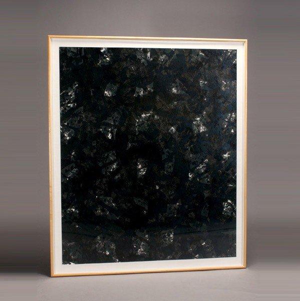 1126: Sam Francis lithograph Indigo wood 1984