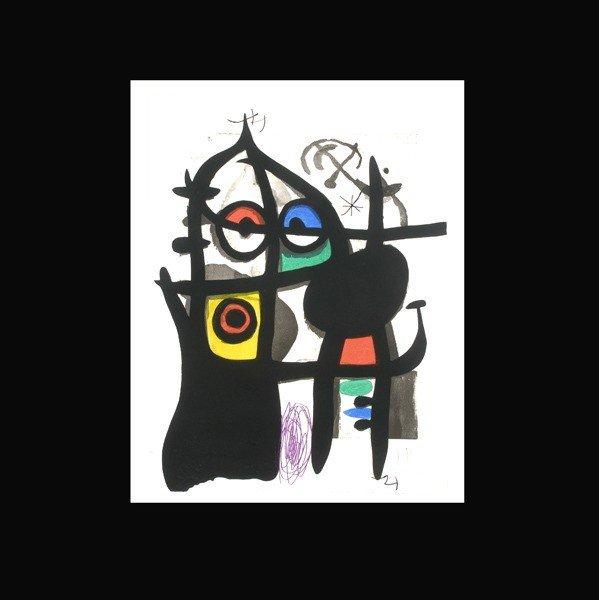 1128: JOAN MIRO, Le Captive, 1969