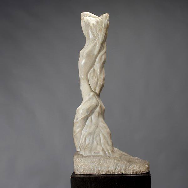 1135: Warren Cheney art deco marble