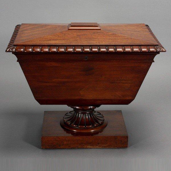 1180: George IV Mahogany Wine Cooler