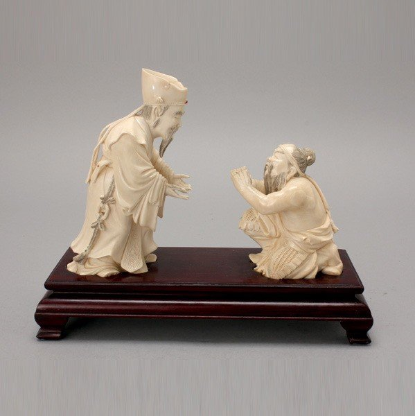 6004: Two Carved Ivories*