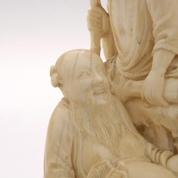6006: A Fine Ivory Figural Carving*, 19th Century - 3