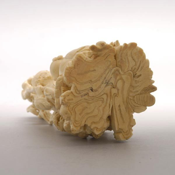 6006: A Fine Ivory Figural Carving*, 19th Century - 4
