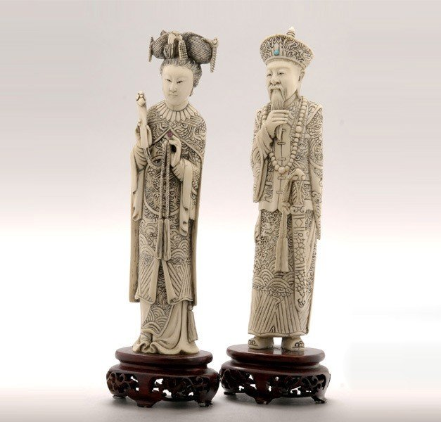 6012: An Ivory Emperor and Empress*