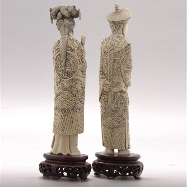 6012: An Ivory Emperor and Empress* - 3
