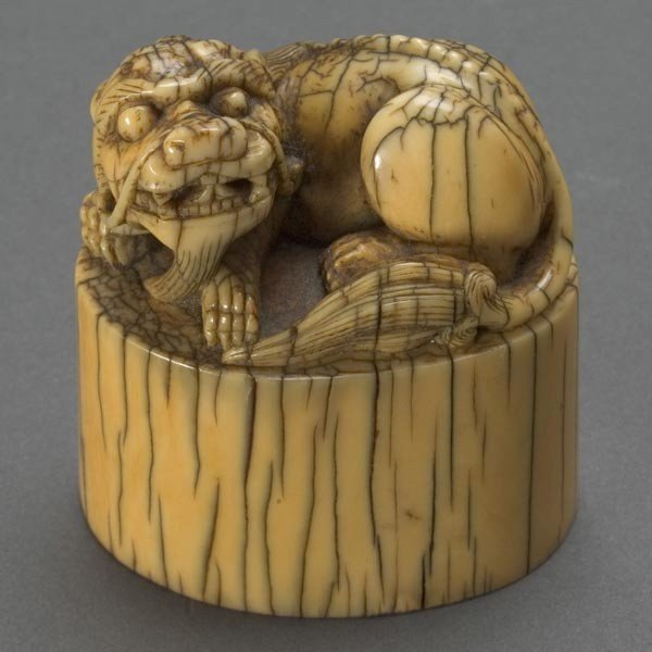 6022: A Carved Ivory Seal*