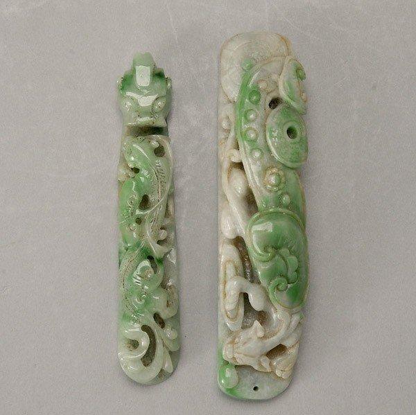 6067: Two Jadeite Objects