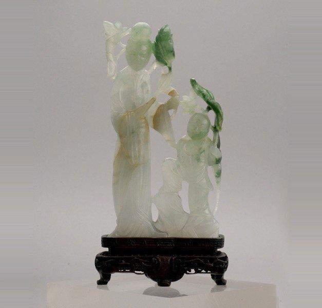 6086: A Jadeite Figural Group