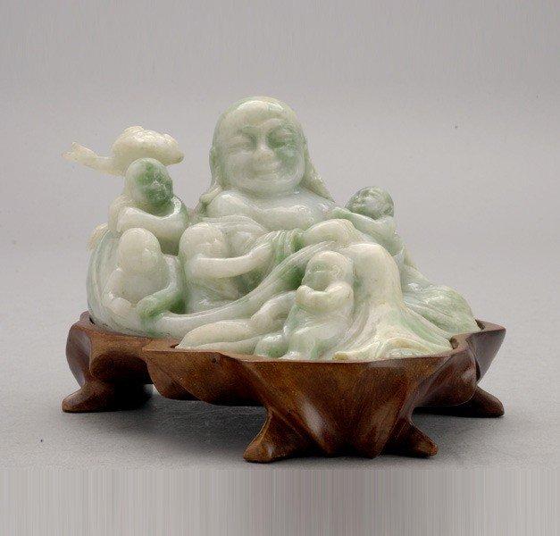 6087: A Jadeite Budhai Group