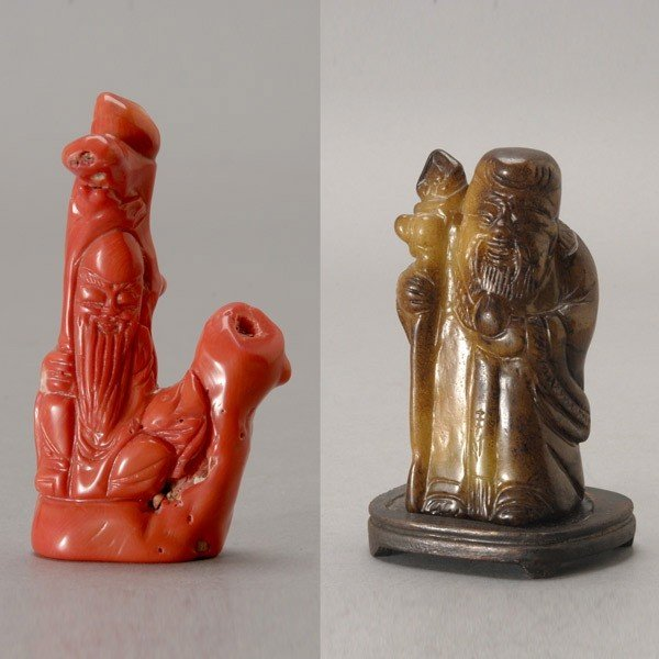 6099: Two Carvings of the Longevity God*