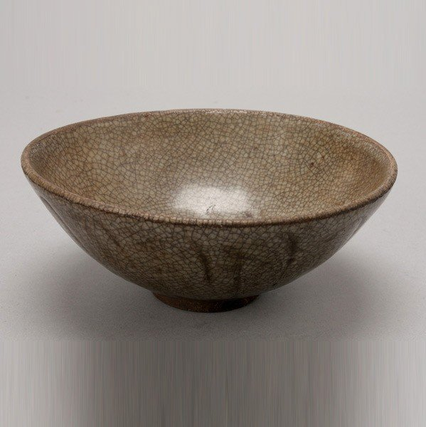 6188: A Green-Glazed Lotus Bowl, 10th Century or Later