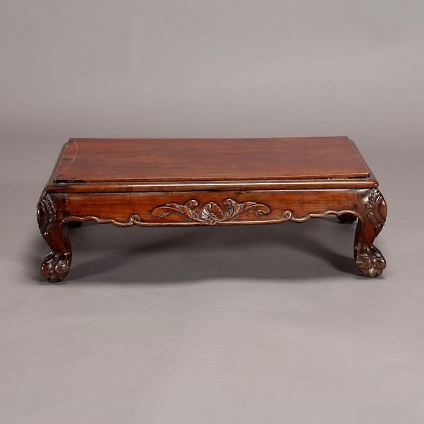 6315: A Small 19th Century Hardwood Low Table - 2