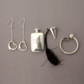 COLLECTION TIFFANY & CO. STERLING SILVER ITEMS.