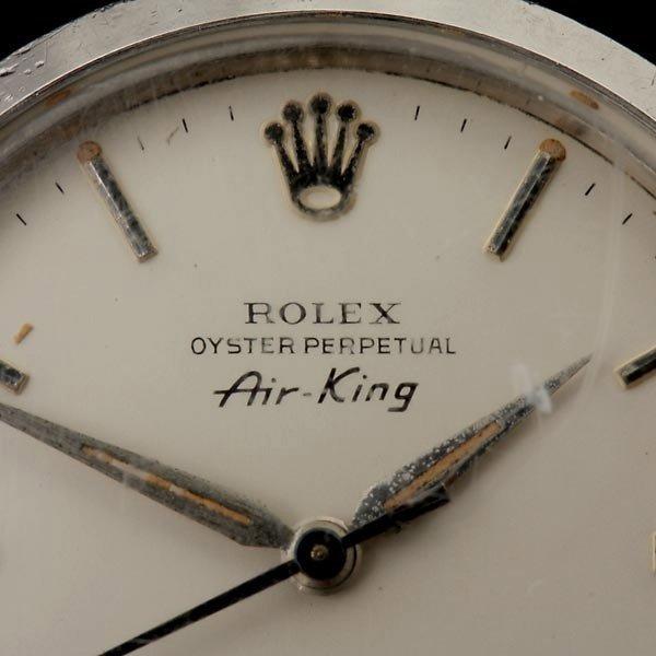 191: ROLEX AIR KING STAINLESS STEEL WRISTWATCH. - 2
