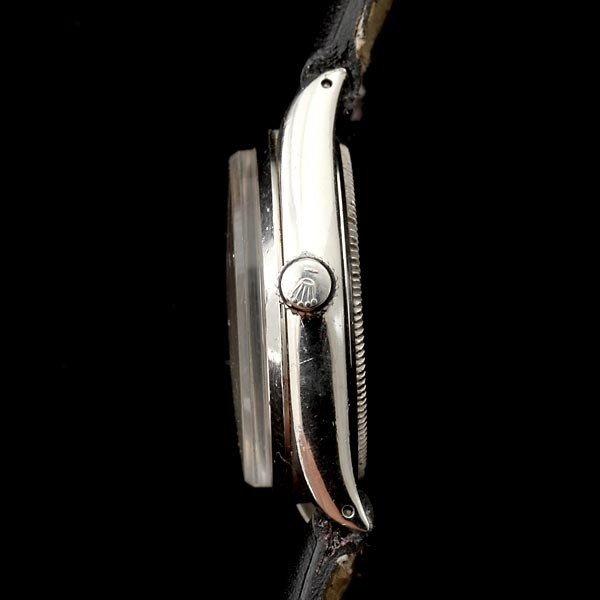 191: ROLEX AIR KING STAINLESS STEEL WRISTWATCH. - 3