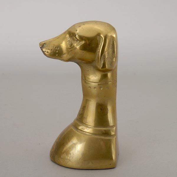 805: Greyhound Paperweight, Stand & Dog in Racing Silks - 4