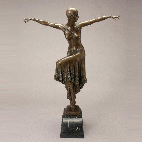 817: After DEMETER CHIPARUS, Bronze Dancer
