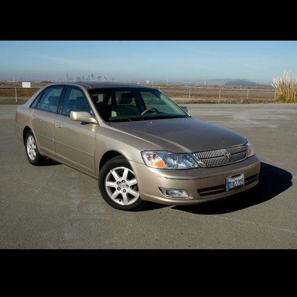 1: 2001 Toyota Avalon, 20,500 miles