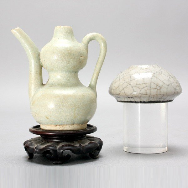 168: Two Ceramic Objects