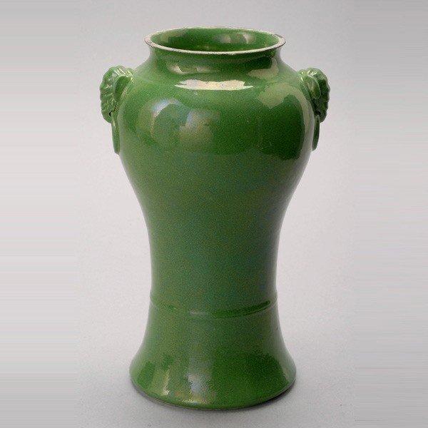 173: A Green Glazed Vase
