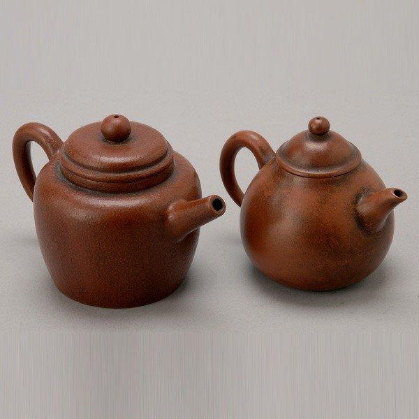 174: Two Small Yixing Teapots
