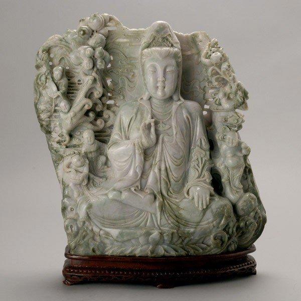185: A Massive Jadeite Guanyin