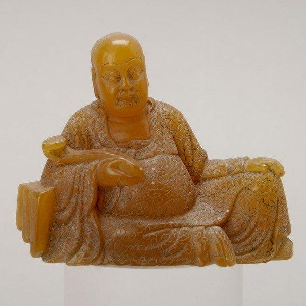 199: A Soapstone Luohan
