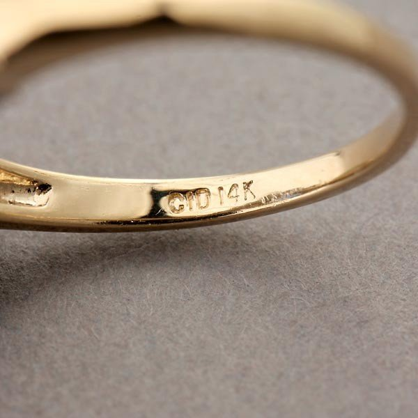 137: SAPPHIRE, DIAMOND, 14K WHITE GOLD RING. - 4